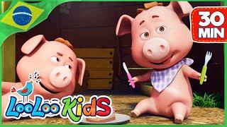 Este porquinho - Canções para crianças | LooLoo Kids Português