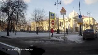 Авария такси. Большой проспект и 18 линия ВО 18+