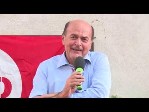 Pierluigi Bersani - Apertura festa regionale Toscana Articolo UNO - MDP