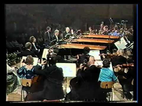 Mozart : Concerto for 3 pianos K.242 Schiff, Barenboim & Solti