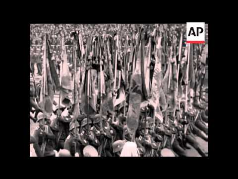 GERMAN TROOPS MARCH INTO RHINELAND - SOUND