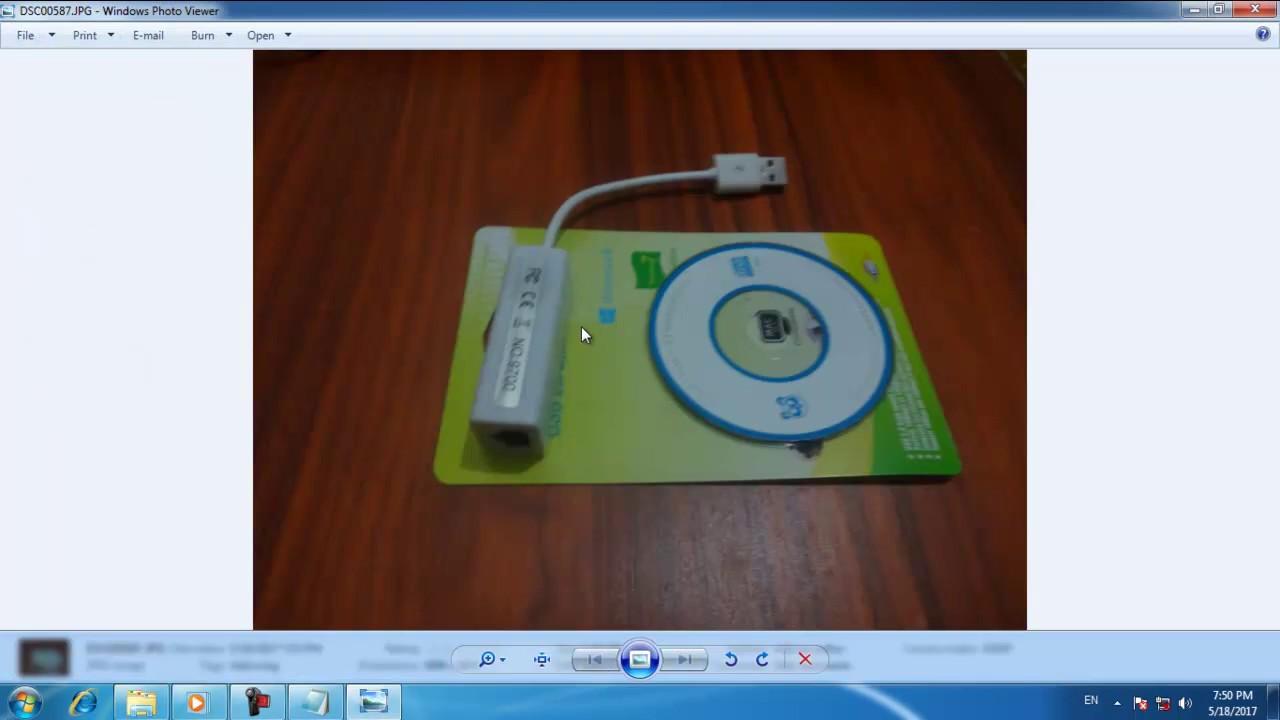 Cài Driver USB To LAN