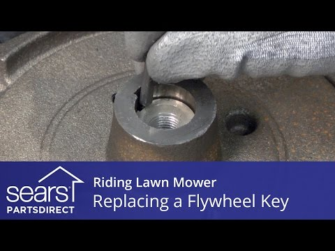 Replacing a Flywheel Key on a Riding Lawn Mower
