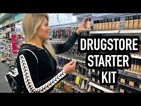 DRUGSTORE MAKEUP STARTER KIT FOR BEGINNERS | EVERYTHING YOU NEED!