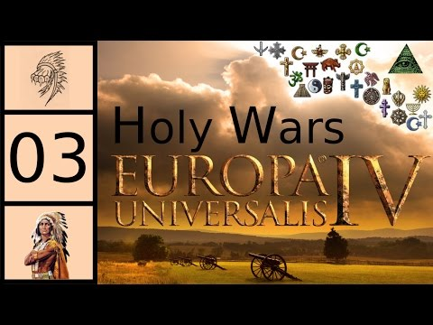 EU4 AI Only Battle - 51 Religions - Global Trade