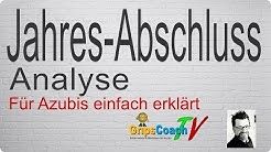Jahresabschluss-Analyse einfach erklärt - Prüfungswissen für Azubis ★ GripsCoachTV