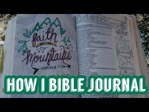 How I Bible Journal // Growing Closer to God || Logan Lynn