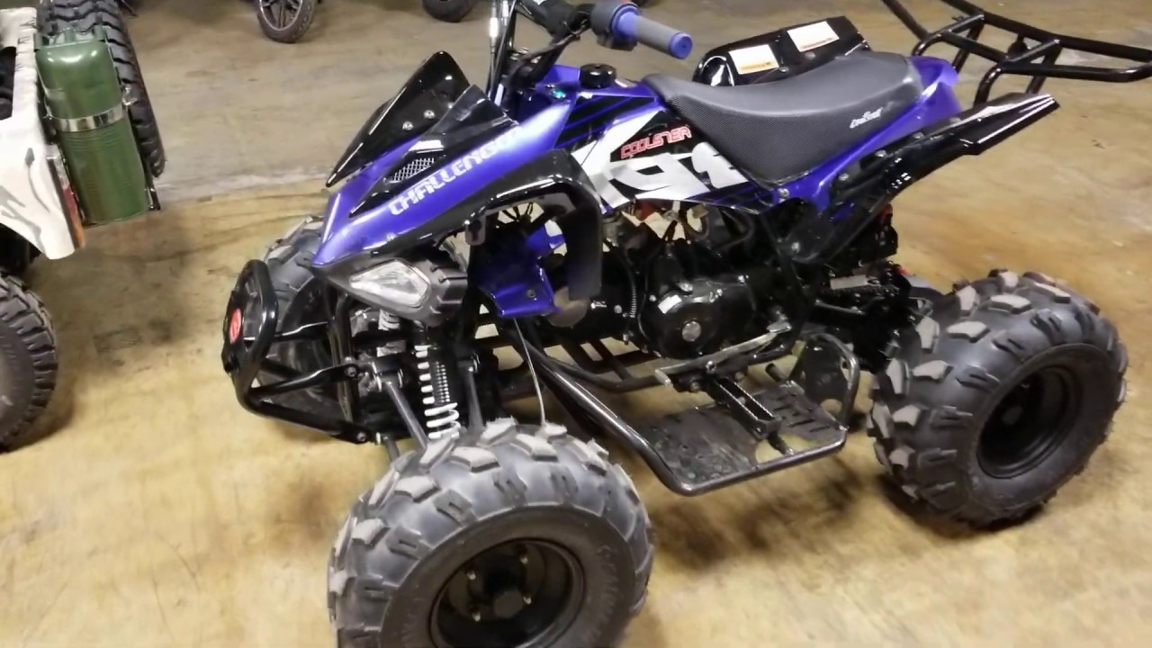 coolster 125cc atv quad four wheeler maintenance and how to start easily