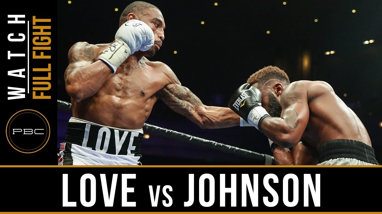 Love vs Johnson FULL FIGHT: Sept 16, 2016 - PBC on Bounce