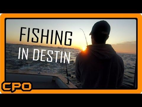 Destin, Florida Fishing With On The Stelluna Charter Fishing Boat