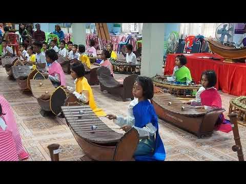 พิธีปิดอบรมดนตรีไทยโคกเหล็ก25613