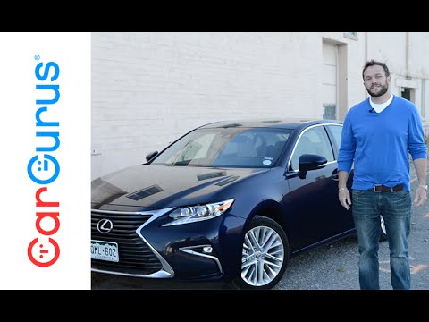 2016 Lexus Es 350 Cargurus Test Drive Review Youtube