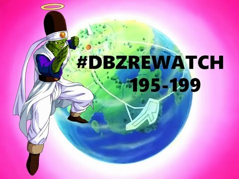 Dragon Ball Z animation breakdown - The Other World arc (195-199)