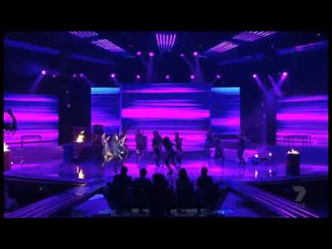 Jessica Mauboy - Satuday Night (feat. Ludacris) live on The X-Factor Australia