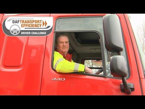 DAF Transport Efficiency Driver Challenge - Meet the Finalists: Chris Gadman