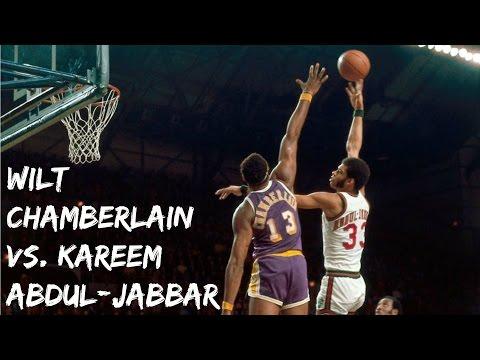 Wilt Chamberlain vs. Kareem Abdul-Jabbar