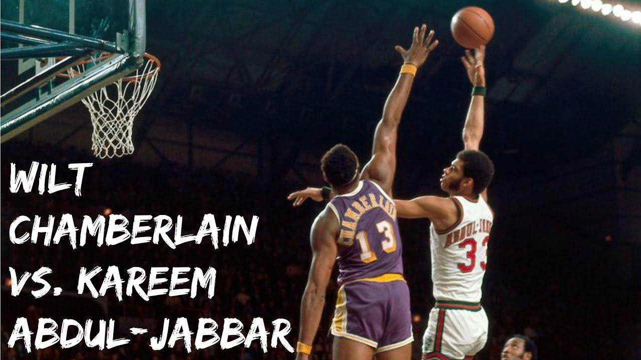 【影片】史前巨獸對決!張伯倫連續兩次封阻Jabbar的標誌性天勾,那時的張伯倫已經進入暮年!