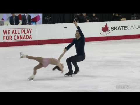 Meagan Duhamel / Eric Radford 2017 Canadian National Figure Skating Championships - FS