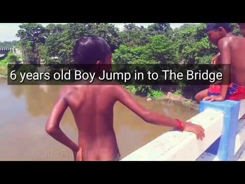 6 years old boy jump into the bridge😲🤕 || Uttar Dinajpur ||