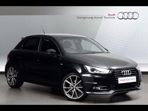 fp16ujl audi a1 sportback tfsi s line black edition black 2016 nottingham audi youtube. Black Bedroom Furniture Sets. Home Design Ideas