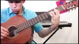 Amor y Control / Tutorial de Guitarra / Ritmo Rasgado