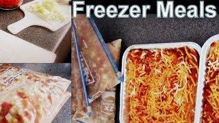 Preparing For Baby Pt 1: Freezer Meals