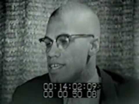 MALCOLM X  Interview, 1959.flv