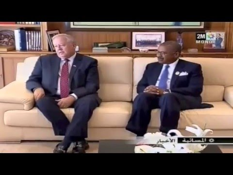 2M, US Under Secretary of State for Political Affairs Thomas Shannon Visit to Morocco