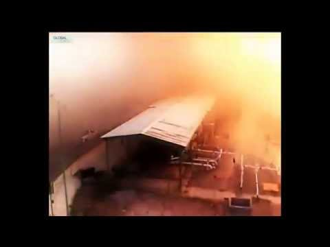 2012 Gas plant explosion Mexico