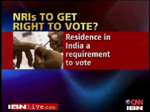 Indian's Overseas to get voting rights by 2014 elections