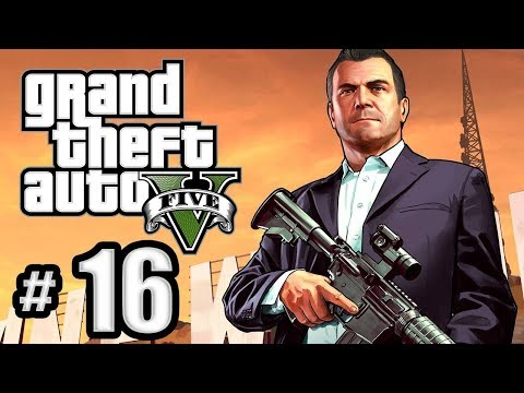GRAND THEFT AUTO 5 PART 16  THE LONG STRETCH GAMEPLAY WALKTHROUGH