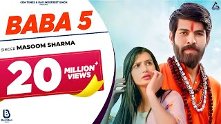 BABA 5 NEW SONG || Masoom Sharma || Nidhi Sharma || NEW HARYANVI SONG 2020