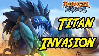 Titan Invasion - Monster Legends