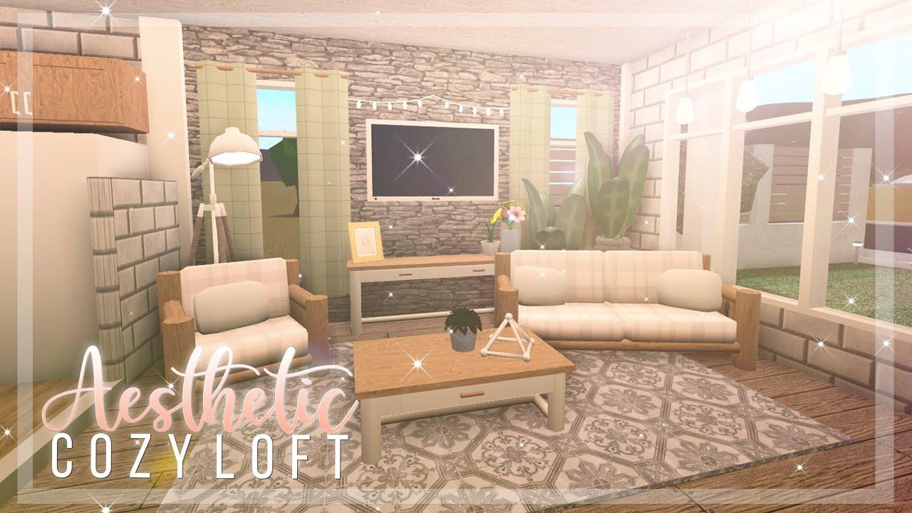 Bloxburg Aesthetic Cozy Loft 29k Youtube