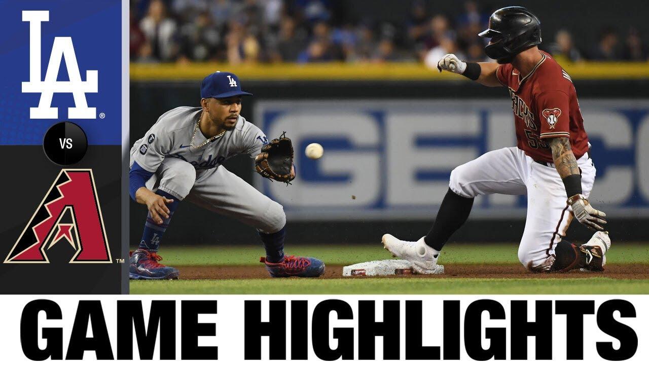 Download Dodgers vs. D-backs Game Highlights (8/1/21) | MLB Highlights