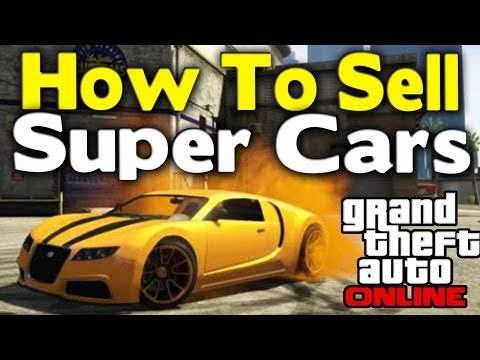 how to sell suped up cars gta online