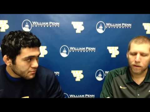 William Penn Athletics Johnny Hopper Interview 12-1-15