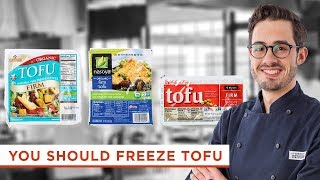 This is Why You Should Freeze Your Tofu