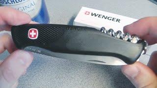 Нож Wenger Ranger 55(В видео нож Венгер Рэйнджер 55 добротный, крупный складень (можно сказать мультитул) без однорукого открыван..., 2013-11-25T13:30:49.000Z)