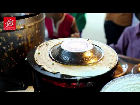 Mumbai Street Food   Chinese Noodles Dosa With Indian Vegetables And Spices   Indian Street Food