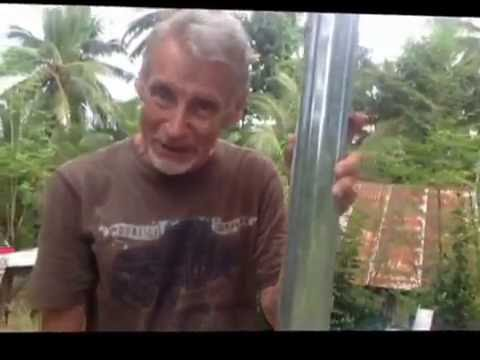 METAL STUD PROJECT ON SMALL DECK A BRITISH EXPAT IN THE PHILIPPINES  LIFESTYLE VIDEO