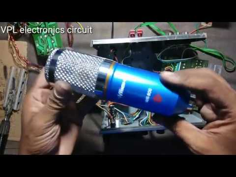 How To Make Echo Mic Amplifier