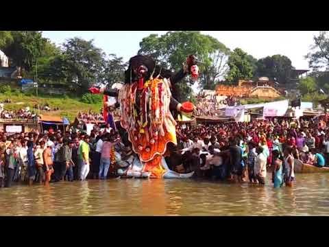 """Jabalpur Ki Maharani .... KALI..... """"VISARJAN"""""""