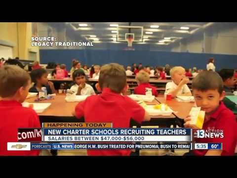 New Las Vegas charter schools looking to hire teachers