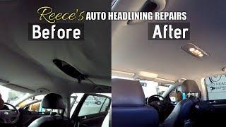 VW GOLF Car Headliner Repair | Before & After