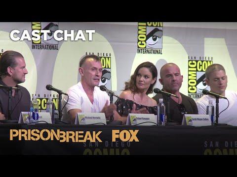 Comic-Con Panel Highlights   PRISON BREAK