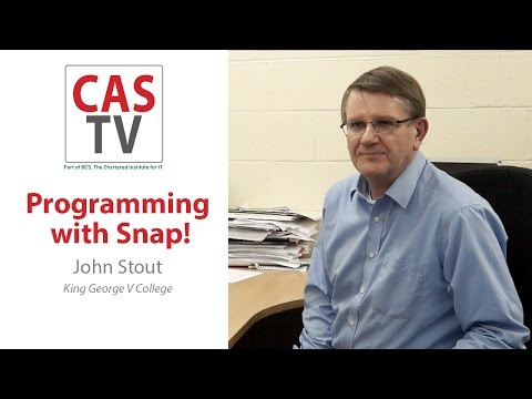 John Stout - programming with Snap!