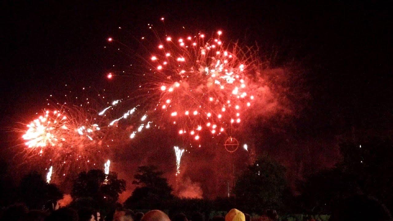 Feu D Artifice Fireworks Hellfest 2015 Youtube