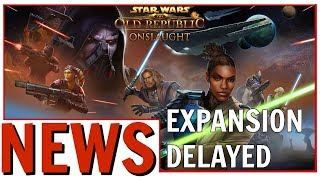 SWTOR Onslaught Expansion Delayed | Elder Scrolls Online Free Play Event Begins Tomorrow