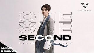 ONE SECOND - VŨ CÁT TƯỜNG (TRACK 5 - ALBUM STARDOM)   OFFICIAL LYRICS VIDEO